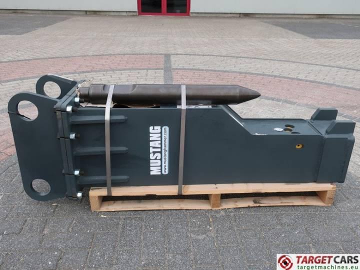 Mustang Hammer HM1000 Hydraulic Excavator Breaker 10~18T