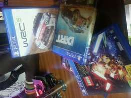 Dirt 4, Drive Club , Moto gp. Racing games