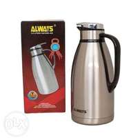 Always Stainless Steel Thermos Flask Jug - 3 Litres - Silver