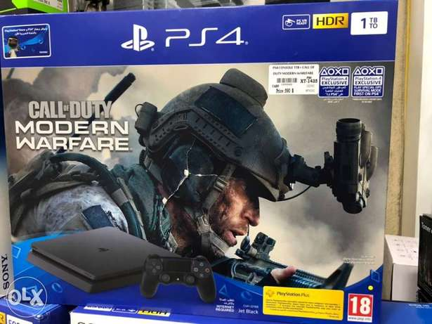 Ps4 1TB Modern Warfare Edition