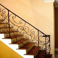 Exclusive vintage railings and balustrades