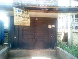 Well built shop with PVC roof for SALE