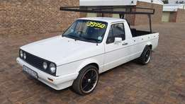 1996 VW Caddy 1,6L Pick Up Work Horse Cheapie Daily Runner