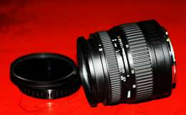 Sigma 18-50mm, 3.5-5.6 DC. Made in Japan. As good as new