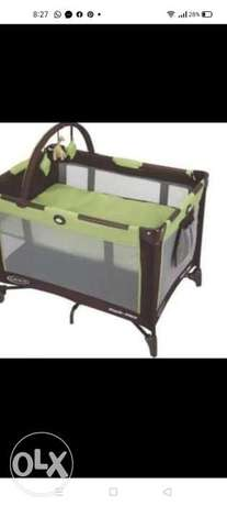 Graco pack and play bed