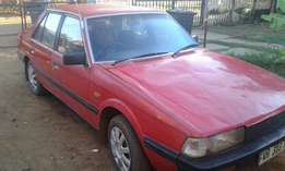 mazda 626, in daily use,old but reliable