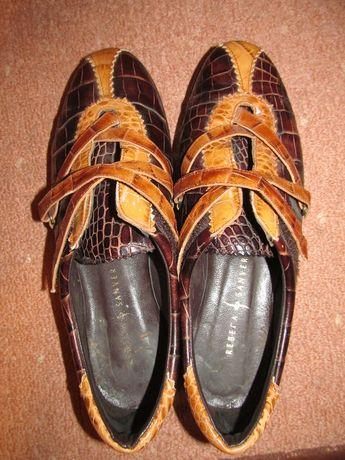 6809ecb70116f piękne buty skórzane hiszpanskie damskie Rebeca Sanver r. 39 Opole - image 3