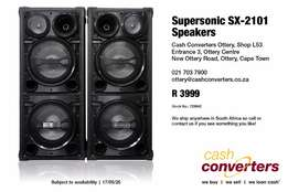 Super sonic speakers for sale