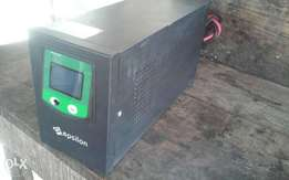1.6kva/24v 2batteries epsilon inverter system