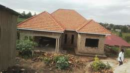 4bedrooms shell house on 15decimals in kira in developed area at 170m