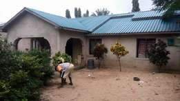 -Plot size 55' X 70' at Majaoni in Shanzu -3 Bedrooms bungalow (one en