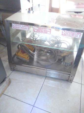 2 Commercial Stainless steel Deep Fryers/ Potato chipper/ Display warm Mlolongo - image 5
