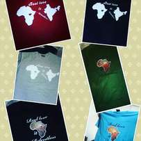 T-shirts for sale, fundraiser for mission charity trip.