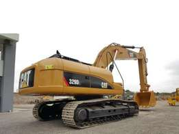 CAT 329DL EXCAVATOR And other construction machines and equipment sale