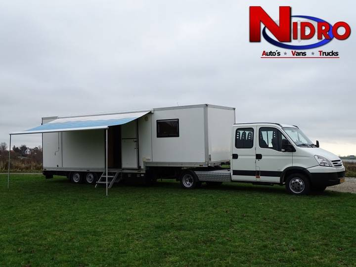 Iveco DAILY BE LICENSE CAMPER 8.PERS GARAGE - 2006
