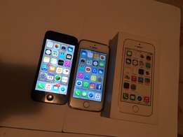 Iphone 5 16GB and 5s 32GB month end special