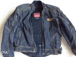 Biker jacket denim