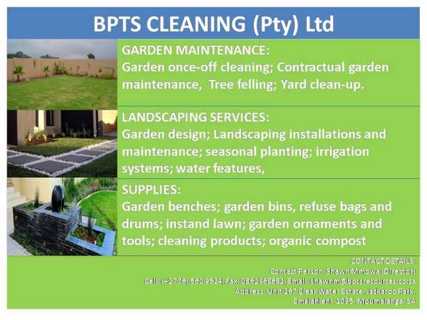 garden maintenance, landscaping and supplies Emalahleni - image 1