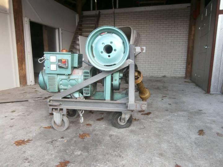 Aftakas aangedreven generator