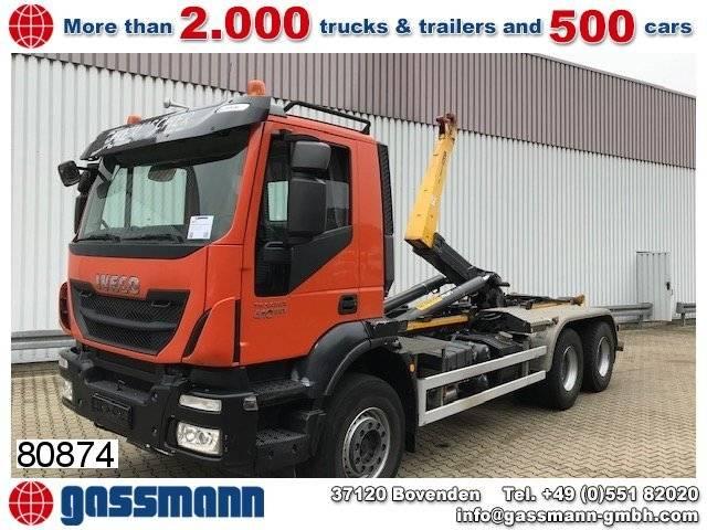 Iveco trakker ad260t41 6x4 - 2013