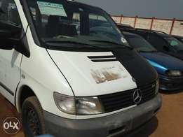 Multifunctional Mercedes Vito bus from Germany at a give away price