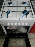 Cooker four burner full gas with automatic ignition for sale