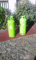 Got 2 each 19KG Orxy Gas bottles full and unused