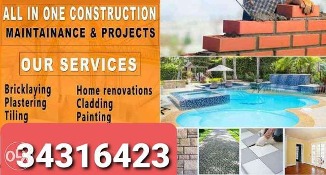 Home painting and rapraing