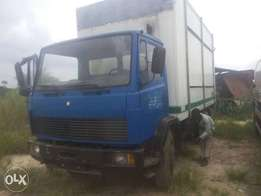 Mercedes truck 1317 container body