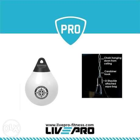 Live Pro Water Boxing Bag with Chain