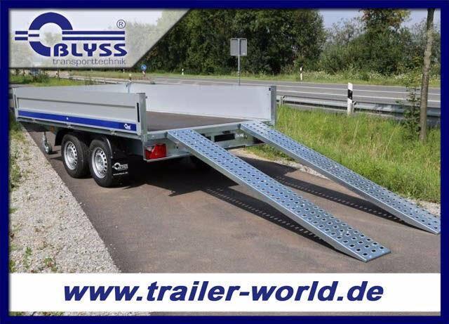 Blyss Hochlader Anhänger 2700kg 310x160x40cm mit AFS