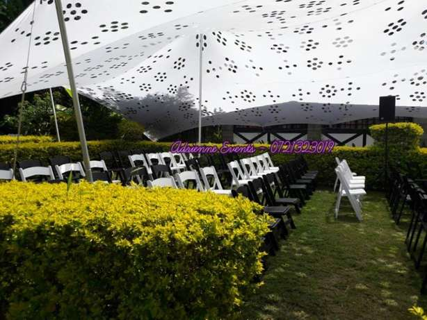 Hexagon tent, Foldable Chairs, Chiavari and Decor Services Westlands - image 6