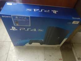 Play station 4 Pro gaming console