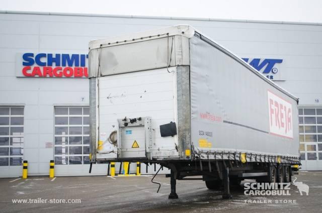 Schmitz Cargobull Semitrailer Curtainsider Mega - 2011