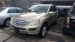 tokunbo 2006 mercedes benz ML350 full option