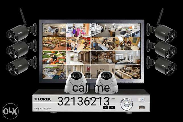 Best quality of CCTV camera fixing