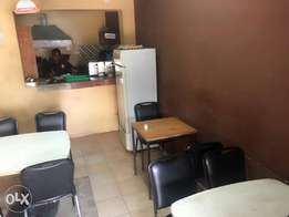 Restaurant located in bamburi,a fast growing area in the city