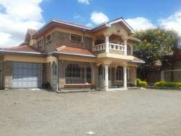 Kahawa sukari, 5 bedroom double storey townhouse, on half acre