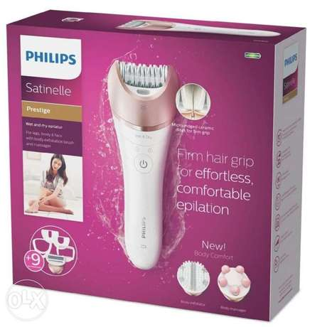 Philips satinelle prestige for smooth skin