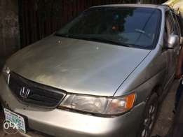 Honda Odyssey 1st body with full leather seats for sale
