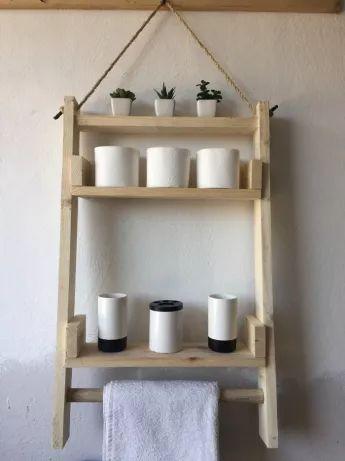 Półka Do łazienki Kuchni Handmade Drewno Najtaniej łódź
