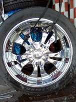 Sports Rim_Toyota Land cruiser V8 Rim size 22(5stands)