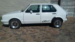 2000 model 160i golf with 17321 on clock