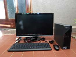 "Fujitsu Dual Core plus 24"" full HD screen"