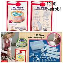 Cake decorating kit 100 pcs
