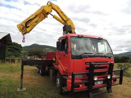 Nissan UD 290 with 28 ton per meter crane