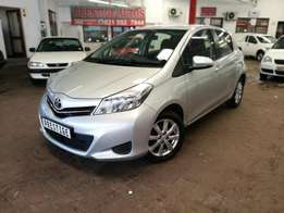 2012 Toyota Yaris 1.3 T3+ with 63000km's,Full Service History,Aircon