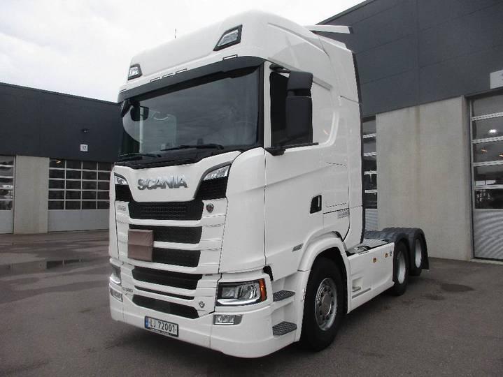 Scania S580 6x2 - Forberedt For Alle Klasser Adr - 2018