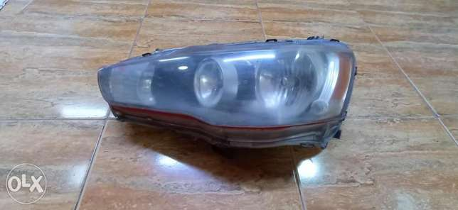 Head light Right side (driver side)