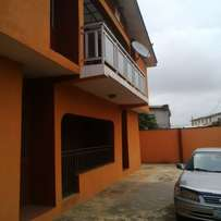 3bedroom flat tonlet in alagbole via berger 300k per yet